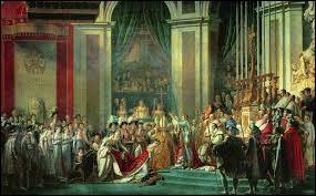 Quelle est la date du sacre de Napoléon Bonaparte ?