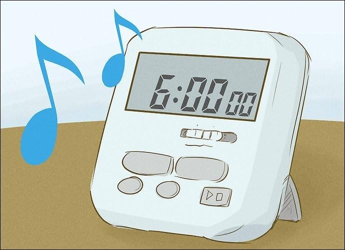 Tout commence au petit matin lorsque je me lève pour me préparer et prendre le bus scolaire. À quelle heure, mon réveil sonne-t-il ?