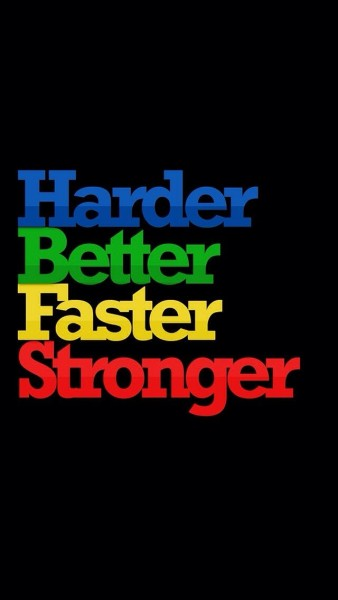 """Qui a composé """"Harder, Better, Faster, Stronger"""" ?"""
