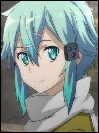 Qui est cette demoiselle aux cheveux bleus ?