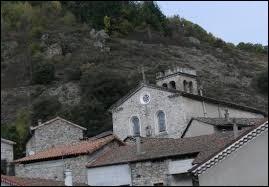 Commune Ardéchoise, Barnas se situe dans l'ancienne région ...