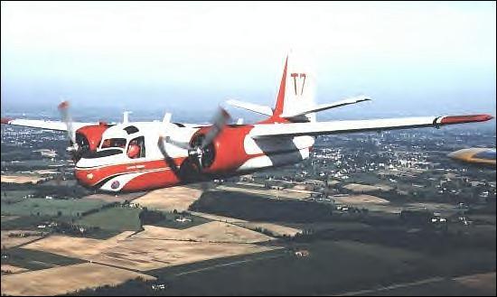 La mission de cet avion est la première intervention lors d'un départ de feu en effectuant un largage de retardant. Quel est son nom ?