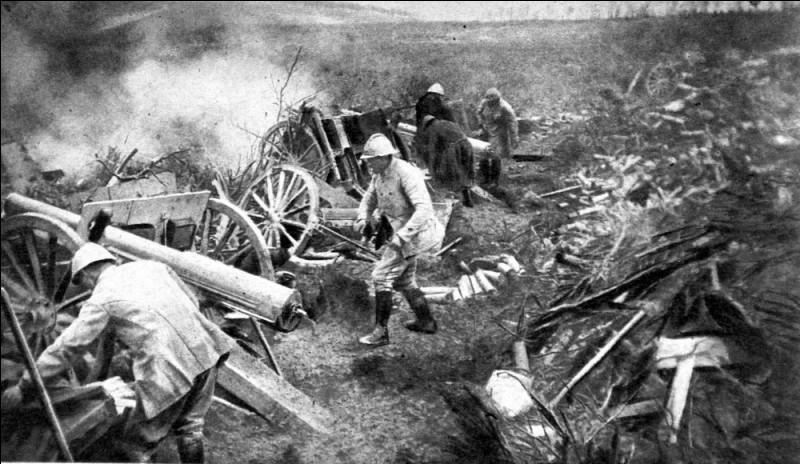 Bataille meurtrière de la 1ère Guerre mondiale, qui opposa, jours et nuits, les soldats français aux allemands et qui fit 700 000 victimes. 1,2 million d'hommes furent mis hors de combat. Pris par surprise, les Français reçurent 2 millions d'obus en 48 heures : vont doubler leurs effectifs et triompheront dans un terrain transformé en enfer.Trouvez cet enfer où l'artillerie causa 80 % des pertes.