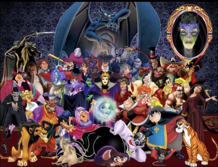 Combien y a-t-il de méchants Disney en tout ?