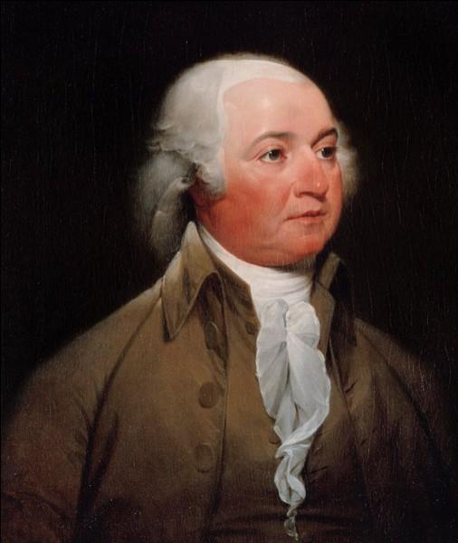 Qui est ce John, homme d'État américain, deuxième président des États-Unis de 1797 à 1801, mort en 1826 ?