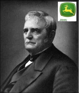 Qui est ce John, industriel et inventeur américain, fondateur de la société de matériel agricole qui porte son nom, mort en 1886 ?