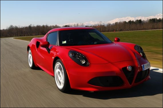 Quel est le modèle de cette Alfa Roméo ?