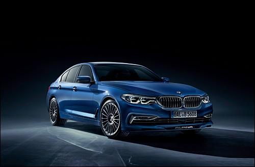 Quel est le modèle de cette Alpina (BMW) ?