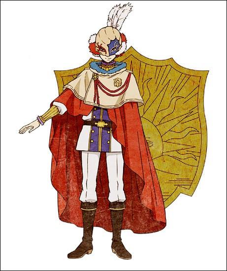 Voici le capitaine de l'Aube d'Or, une autre compagnie de Clover. Comment se nomme-t-il ?