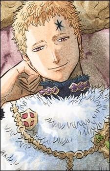 Voici l'un des hommes les plus respectés dans le royaume de Clover. Je vous présente l'empereur-mage. Quel est son nom ?