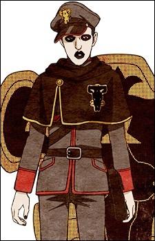 Continuons avec un autre membre du Taureau Noir, il est très discret et marmonne beaucoup. Qui est-ce ?