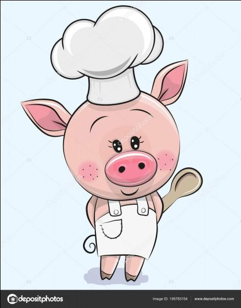En Boucherie, à quoi correspond le morceau du porc nommé palette ?