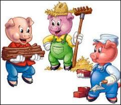Lequel des 3 petits cochons construit sa maison en brique ?
