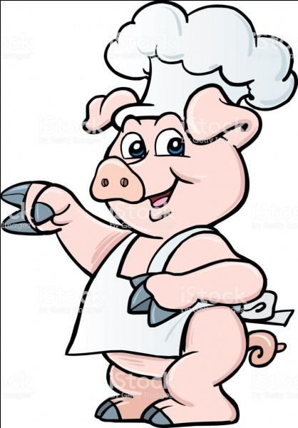 Quand la côte de porc est cuisiné avec vin blanc et cornichons, quel nom prend-elle ?