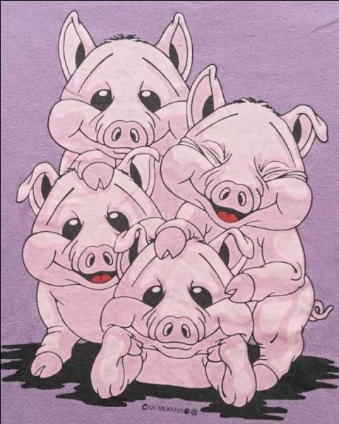 Combien sont les cochons dans le titre d'un roman d'Agatha Christie ?