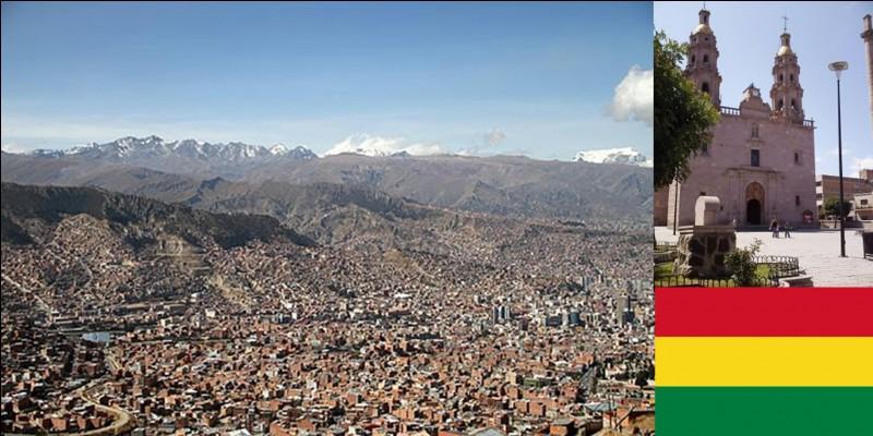 Actuellement, cette ville serait habitée par environ 900 000 habitants. Elle est la ville de plus de 100 000 habitants la plus haute au monde. Elle se situe dans la banlieue de la capitale de son pays.Quelle est cette ville ?