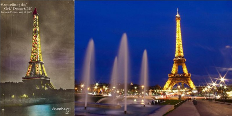 Parlons de la « tour Eiffel », elle a été le plus haut monument avec 300 mètres de haut à sa construction (324 mètres actuellement). Elle fait également partie du « Top 10 » d'autres records.Parmi ces trois propositions quel record NE détient-elle PAS ?