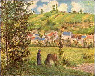 """Qui a peint """"Paysage au Valhermeil"""" ?"""