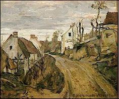 """Qui a peint """"La vieille route à Bougival"""" ?"""