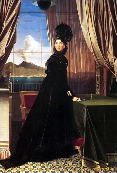 """Qui a peint """"La reine Caroline Murat"""" ?"""