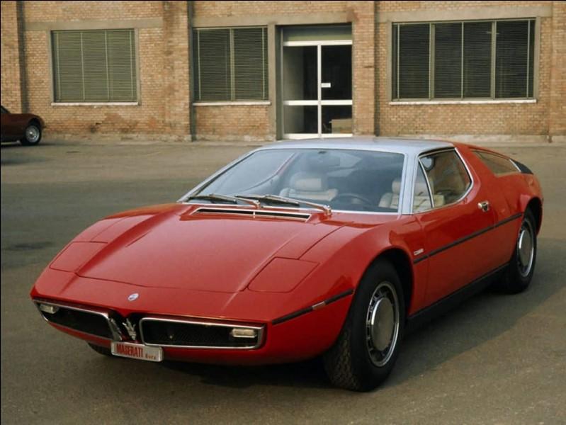 Lequel de nos trois grands fut possesseur, par le passé, de la désirable firme italienne Maserati ?