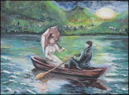 À qui doit-on le célèbre poème Le Lac ?