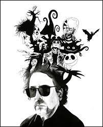 """Complétez : Tim Burton a réalisé """"Edward aux mains...""""."""