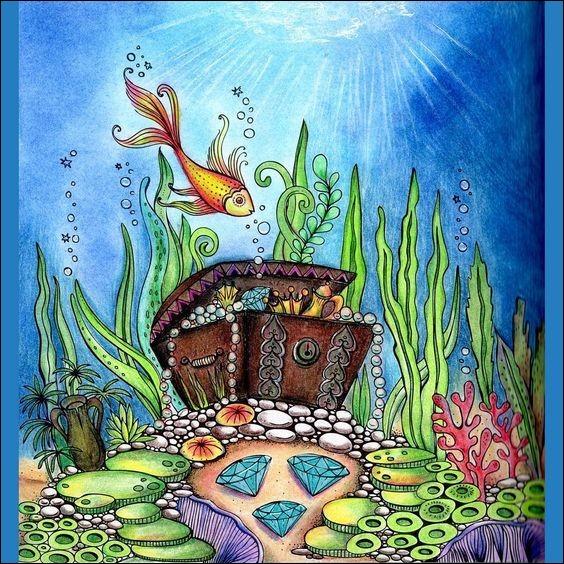 Dans quel album de Tintin, Tournesol a-t-il mis au point un sous-marin pour explorer l'épave d'un bateau en vue d'y retrouver le trésor du chevalier de Hadoque ?