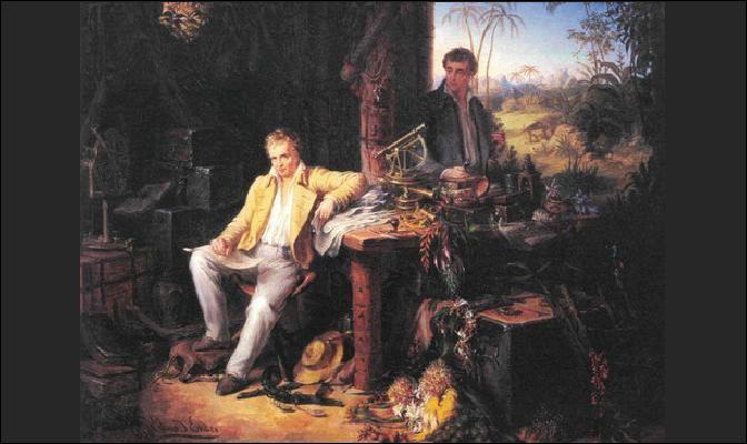 Grand voyageur et savant aux connaissances encyclopédiques, ce géographe et explorateur allemand a parcouru le monde : c'est ... von Humboldt.