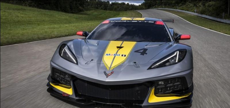 Quel est le modèle de cette Corvette (Chevrolet) ?