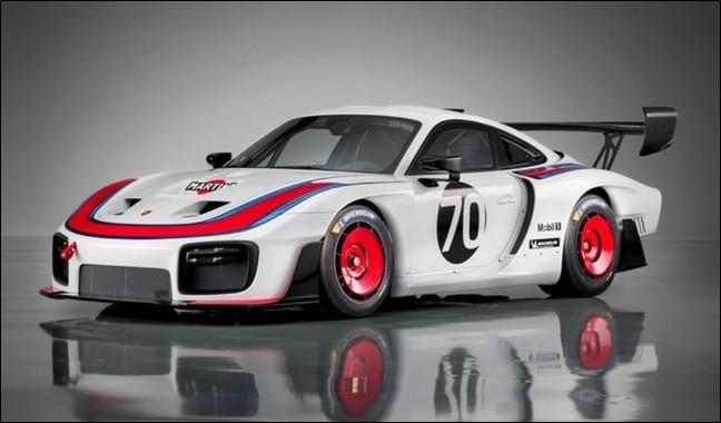 Quel est le modèle de cette Porsche ?