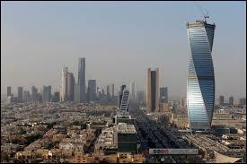 Quel pays a pour capitale et principal centre financier la ville de Riyad ?