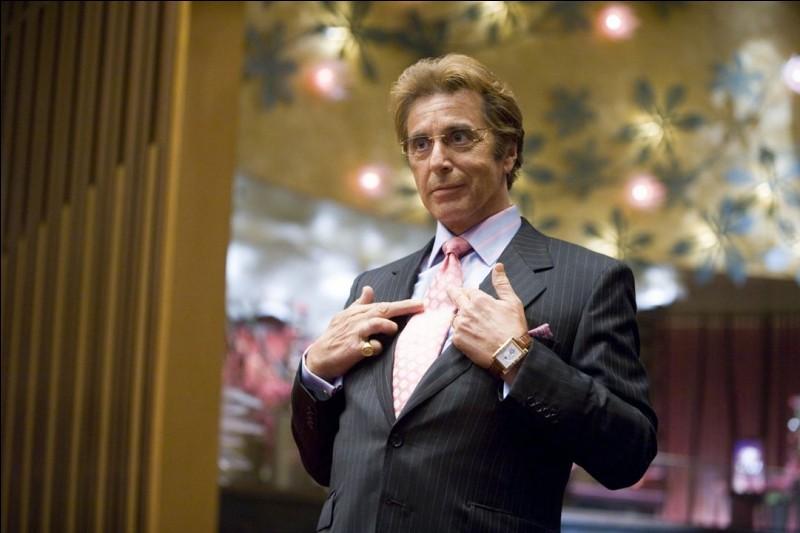 Quel est le personnage de l'acteur Al Pacino ?