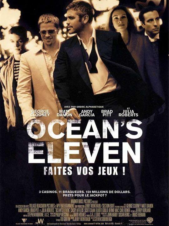 Personnages des films 'Ocean's'