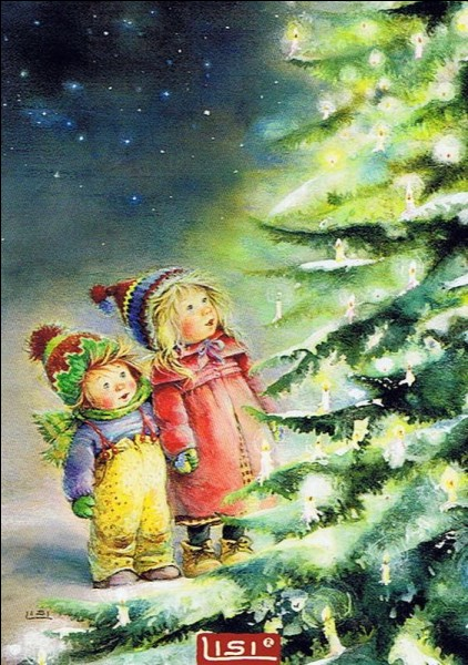 """Le premier sapin de Noël, en France, fut décoré avec des friandises nommées """"oblatas"""", et également des fruits, lesquels ?"""