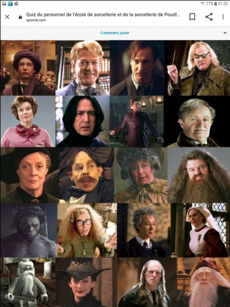 Quel est ton professeur préféré ?