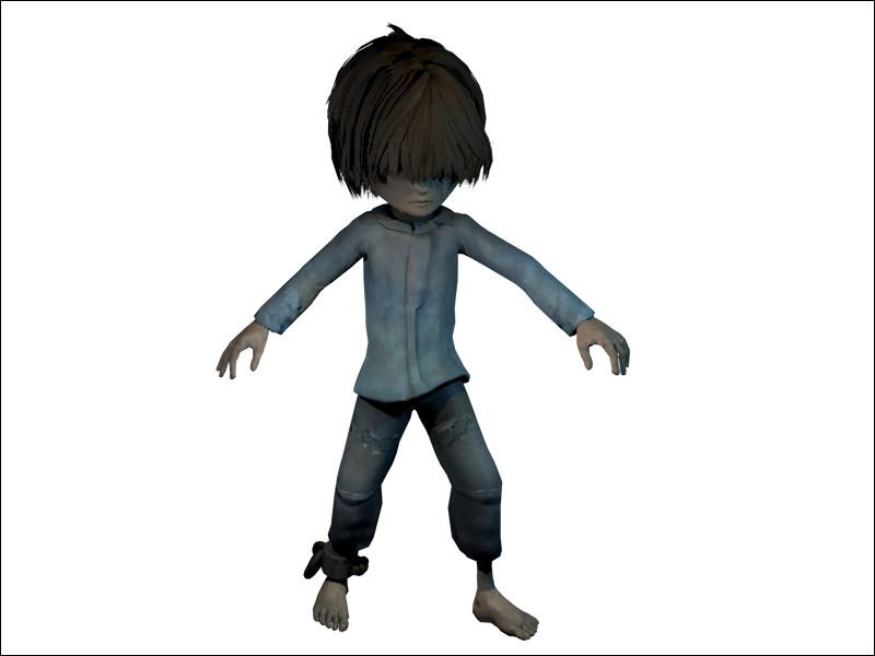 Dans le DLC du jeu comment s'appelle le petit garçon qu'on incarne ?