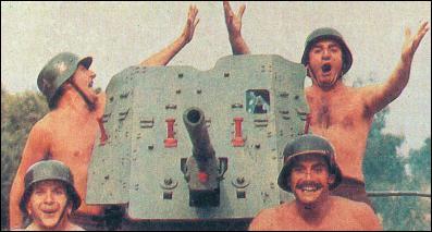 Les trois soldats principaux du film ont trouvé :
