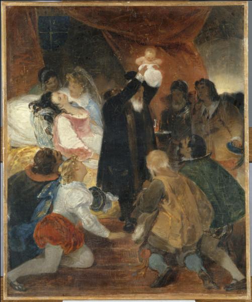 Selon la légende, Henri IV aurait été baptisé avec une gousse d'ail et une goutte de vin : lequel ?