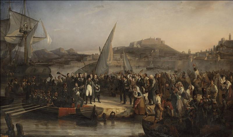 Le 1er mars 1815, dans quelle ville accosta Napoléon 1er à son retour de l'île d'Elbe ?