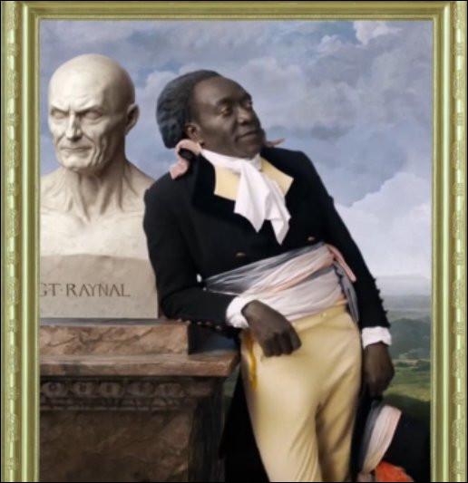 """Anne-Louis Girodet peint l'un des premiers esclaves élu à l'Assemblée en 1794, Jean-Baptiste Belley. Depuis ..., pourtant, un édit stipulait que """"tout esclave touchant le sol français devient automatiquement libre"""". Qui avait promulgué cet édit ?"""