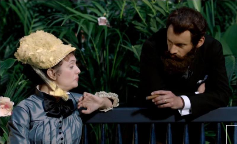 """""""Dans la serre"""", peint par ..., Madame semble plus qu'indisposée par les effluves du cigare de Monsieur. Comment nomme-t-on la partie intérieure du cigare ?"""
