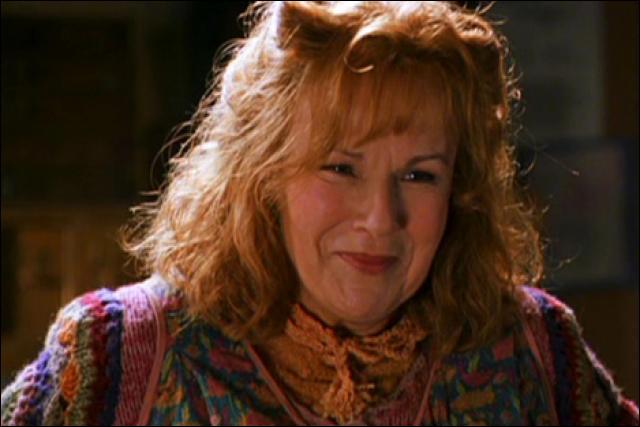 Et l'actrice qui fait Molly, son prénom c'est...