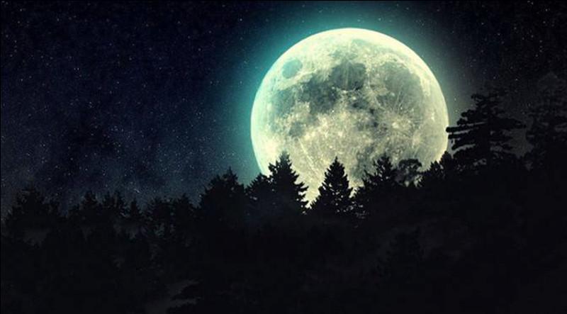 Quand tu vois la Lune, tu te sens excité et/ou tu appréhendes.