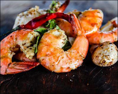 Sans oublier ces crustacés à la chair ferme, qui vont venir parfaire nos pâtes aux fruits de mer :