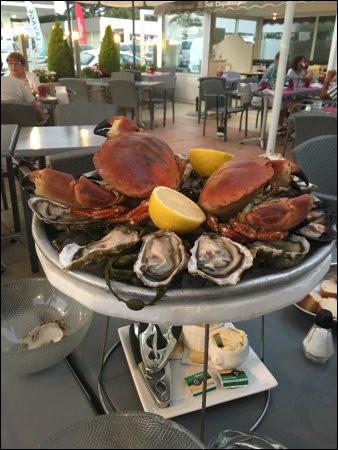 Quel crabe crève les yeux sur ce beau plateau ?