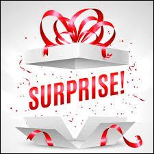Aimes-tu les surprises ?