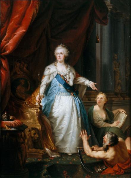 Quel(s) philosophe(s) des Lumières assista ou assistèrent Catherine II de Russie ?