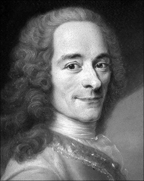 Quels ouvrages parmi cette liste ont été écrits par Voltaire ?