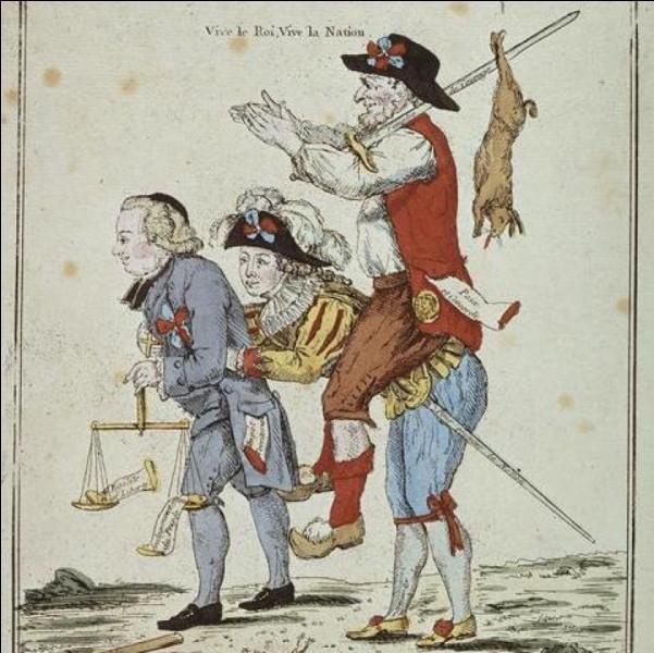 Quels sont les ordres de la société du XVIIIe siècle ?